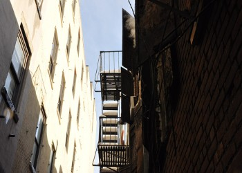 FIRE ESCAPE, 2009, NEW YORK CITY